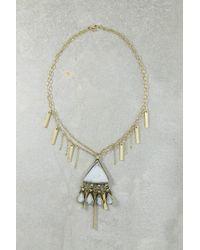 Vanessa Mooney - Metallic Gia Pendant Necklace - Lyst