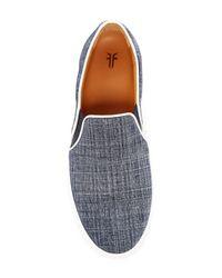 Frye Blue Alexis Slip-on Sneaker