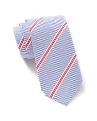Original Penguin Blue Heide Stripe Tie for men