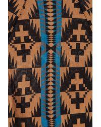 Pendleton Multicolor Spider Rock Triangle Blanket Shawl for men