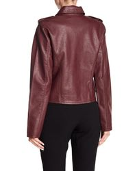Levi's Multicolor (r) Faux Leather Moto Jacket