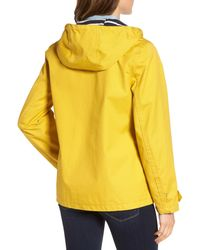 Joules Yellow Hooded Raincoat
