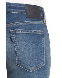 Levi's Blue Made & Crafted 721 High Waist Skinny Jeans
