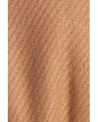 Trina Turk | Natural 'Chloe' Wool-Blend Peacoat | Lyst