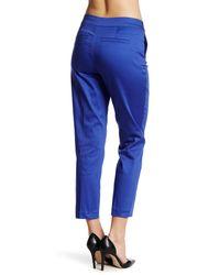 NYDJ - Blue Corynna Ankle Pant (petite) - Lyst