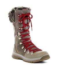 Santana Canada - Multicolor Melita 3 Wool Blend Lined Waterproof Boot - Lyst