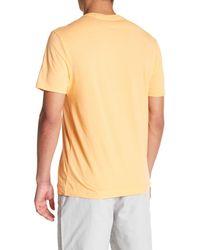 Original Penguin Orange Circle Logo T-shirt for men