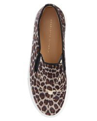 Charlotte Olympia - Brown Cool Cats Slip-on Sneaker - Lyst