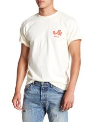 Obey Natural Flower Tee for men