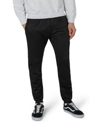Topman Black Track Sweatpants for men