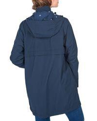 Barbour Blue Laysan Jacket Navy