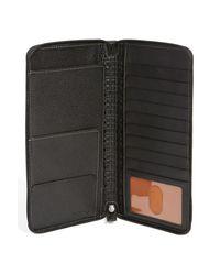 Boconi - Black 'tyler' Rfid Protected Traveler Wallet for Men - Lyst