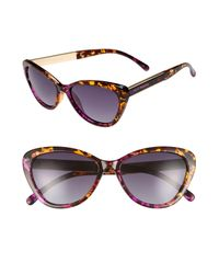 Privé Revaux - Purple Priv? Revaux The Hepburn 56mm Cat Eye Sunglasses - Lyst