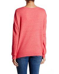 Alternative Apparel - Pink Sunset Pullover Sweater - Lyst