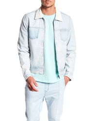 KUWALLA - Blue Zip Denim Jacket for Men - Lyst