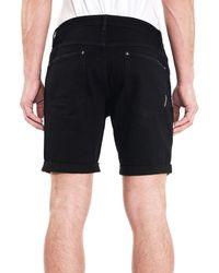 Neuw Black Ray Denim Shorts for men