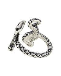 Jenny Bird - Metallic Shakti Serpent Ring - Lyst