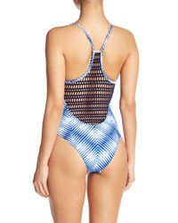 Rip Curl - Blue Last Light One Piece Swimsuit - Lyst