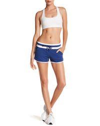 Lorna Jane Blue Champion Excel Shorts