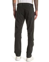 AG Jeans Black Everett Slim Straight Jeans for men