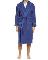 Nordstrom Blue French Terry Robe for men