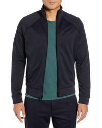 Vince Blue Regular Fit Track Jacket for men