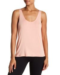 Nux Pink Exhale Tank Top