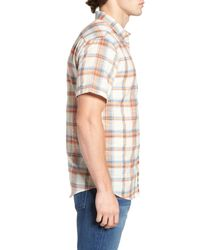 Billabong - Multicolor Short Sleeve Plaid Print Shirt for Men - Lyst