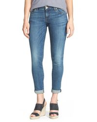 Kut From The Kloth - Blue 'catherine' Boyfriend Jeans - Lyst