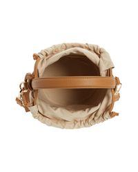 Sole Society Multicolor Nikole Faux Leather Bucket Bag