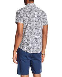 RVCA Multicolor Dresden Printed Slim Fit Shirt for men