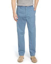 1901 Blue Fremont Slim Straight Leg Chinos for men