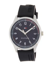 Tommy Hilfiger - Multicolor Men's Essentials Silicone Bracelet Watch, 44mm for Men - Lyst
