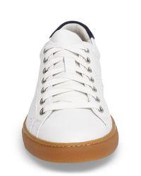 Treasure & Bond - White Merrick Perforated Sneaker - Lyst