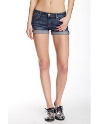 Hudson Blue Cuff Denim Shorts (hackney)