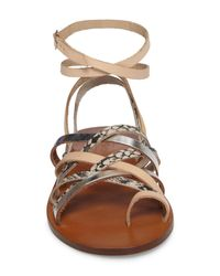 TOPSHOP - Multicolor Fizzy Strappy Sandal - Lyst