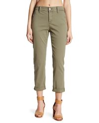 NYDJ - Green Riley Relaxed Chino Pant (petite) - Lyst