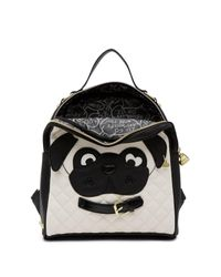 Betsey Johnson - Black Kitsch Dog Mini Backpack - Lyst