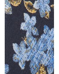 Tasha - Blue Floral Brocade Headband - Lyst