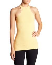 Free People Yellow Heart Is Racing Tank Top