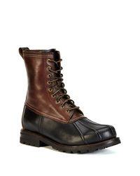 Frye - Brown Veronica Duck Boot - Lyst