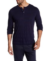 Zachary Prell - Blue Redwood Solid Tee for Men - Lyst
