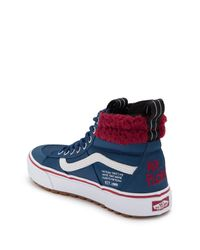 Vans Blue Sk8-hi X The Simpsons Mr. Plow Sneaker for men
