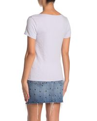 Madewell Multicolor Scoop Neck Baby Tee
