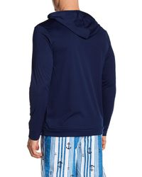 TRUNKS SURF AND SWIM CO - Blue Pullover Swim Hoodie for Men - Lyst