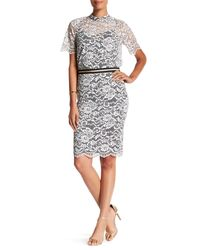 Trina Turk | Multicolor Paltrow Lace Skirt | Lyst