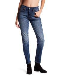 Levi's Blue 501 Skinny Jeans
