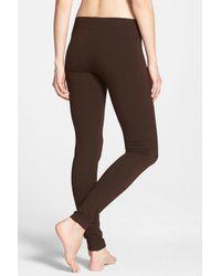 Hue - Brown Wide Waistband Ultra Legging - Lyst