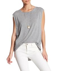 Urban Outfitters - Gray The It Muscle Tee - Lyst