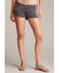 Siwy - Blue Camilla Raw Edge Shorts - Lyst